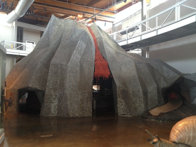 Volcano, Bishop Museum, Hawai'i, 2015
