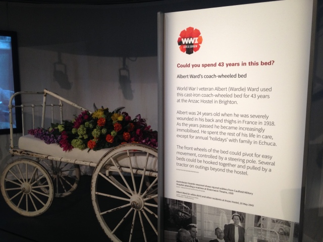 Love and Sorrow exhibition teaser case text, Melbourne Museum, 2015