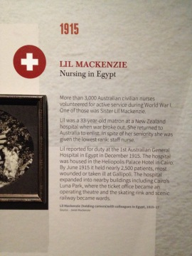 lil Mackenzie label showing navigational symbol, Love and Sorrow, 2015