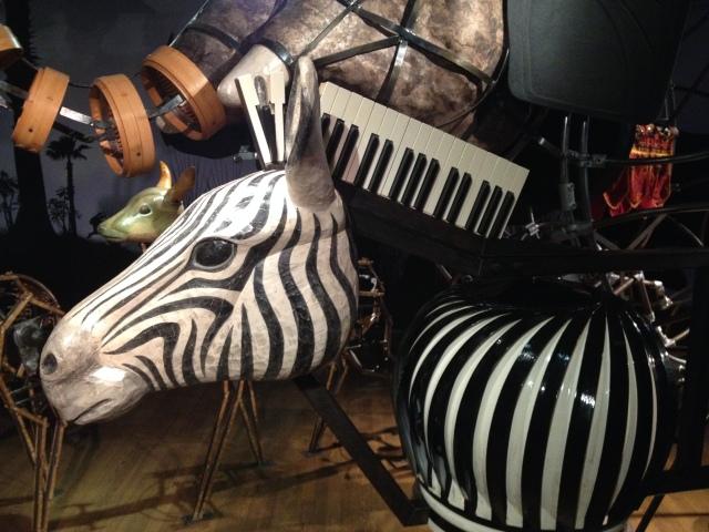 Zebra, Noah's Ark, Skirball, LA, 2015
