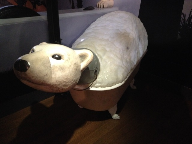 Polar bear, Noah's Ark, Skirball, LA, 2015