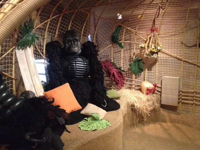 Gorillas, the latest addition to Noah's Ark, Skirball, LA, 2015