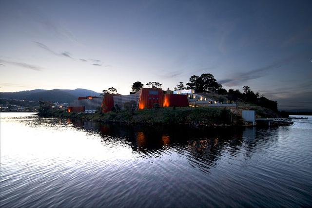 MONA, Hobart, Tasmania, 2011. Photograph by Rob Taylor
