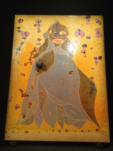 Chris Ofili, The Holy Virgin Mary, 1996