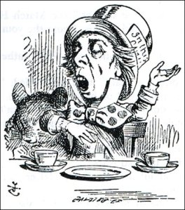Mad Hatter, by John Tenniel