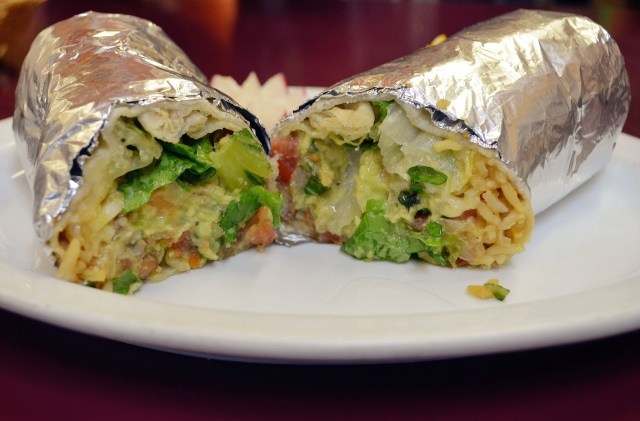 Burrito. Photograph by anna.xie (CC BY-NC-ND 2.0)